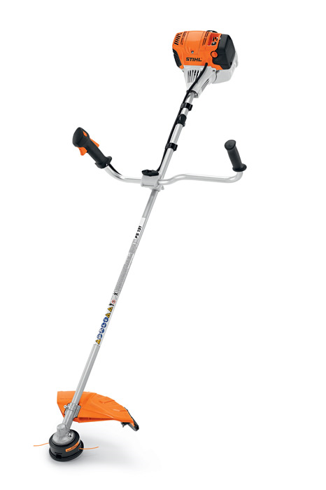 Ganos stringtrimmers dense thick weeds cant stand up to the professional power of the stihl fs 131 r trimmer it features a low exhaust emission engine and a larger fuel tank greentooth Choice Image