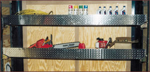 Enclosed Trailer Shelving Ideas http://www.ganos.com/trailers.htm