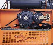 scag commercial equipment s heavy duty agura clutch drives the scag mower deck this provides strong and dependable power to the deck
