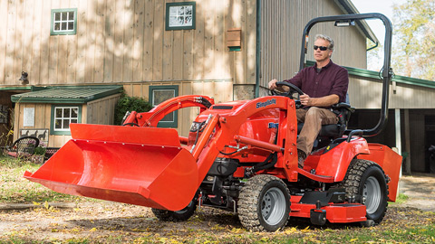 Gano S Residential Lawn Tractors And Consumer Z S