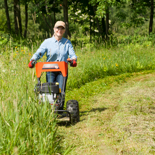 Dr Equipment Offers 5 Models Of Walk Behind Field And Brush Mowers